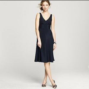 J Crew black Sophia dress